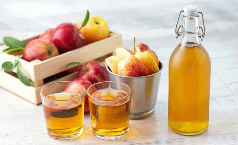 هل يساعد خل التفاح على نمو الشعر؟